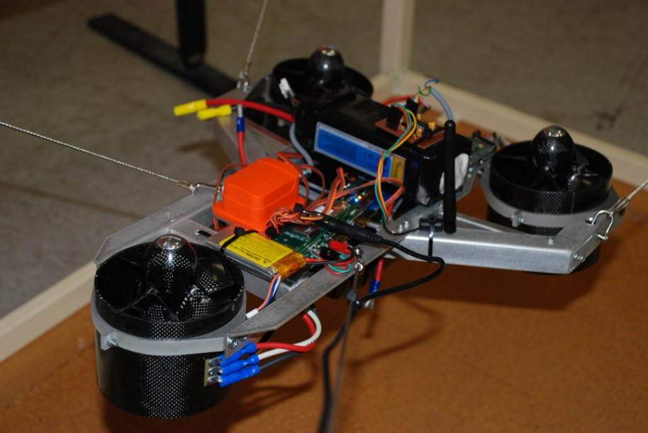 Robust Control of Vectored Thrust Aerial Vehicles via Sliding Mode Control